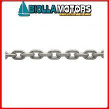 0115012100 CATENA INOX 12*100MT Catena Calibrata in Acciaio Inox