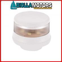 2113425 FANALE TA LED 12/24 WHITE 360 BLACK Fanali Testa Albero LED (R.I.Na.)