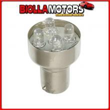 98314 LAMPA 24V LAMPADA MULTI-LED 5 LED - (R10W) - BA15S - 1 PZ - SCATOLA - BIANCO