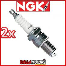 2 CANDELE NGK BP7ES MOTO GUZZI Quota 1000CC 1992-1997 BP7ES