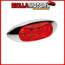 98481 LAMPA LUCE INGOMBRO A 2 LED, 24V - ROSSO
