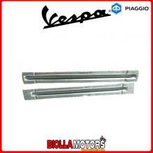 SET 2 PEZZI TRAVERSINE RINFORZI PIAGGIO VESPA 125 GTR GT SUPER GL RALLY 200 - PER PEDANA PE003/1 LAMIERATO