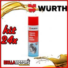 KIT 24x 500ML PULITORE PER FRENI SPRAY WURTH - 24x 0890117