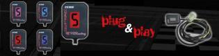 GT310-H1 INDICATORE DI MARCIA HONDA CRF250L 2014- PZ GearTronic ZERO