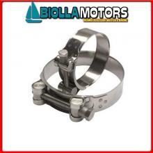 1401598 COLLAR 122-130 Collare Inox T-Bolt HD
