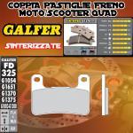 FD325G1370 PASTIGLIE FRENO GALFER SINTERIZZATE ANTERIORI SUZUKI GSX 1300 R HAYABUSA 08-