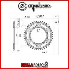 368207038 CORONA TRASMISSIONE 38 PASSO 525 KTM SUPER DUKE 1290 - R - GT 2014-2017 1290CC