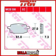 MCB590 PASTIGLIE FRENO ANTERIORE TRW FlexTech (Benzhou) 125 Top Speed 2009- [ORGANICA- ]