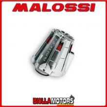 047729.W0 FILTRO ARIA MALOSSI E5 CON D. 43 EXPLORER CRACKER 50 2T 2003-> (GE 1E 400 MB) PER CARBURATORI PHBL 25 CON CUFFIA CROMA