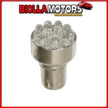 98318 LAMPA 24V LAMPADA MULTI-LED 12 LED - (P21/5W) - BAY15D - 1 PZ - D/BLISTER - BIANCO