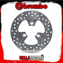68B407K8 DISCO FRENO POSTERIORE BREMBO PEUGEOT CITYSTAR 2011- 125CC FISSO