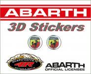 21535 ADESIVO 3D STICKERS STEMMA ABARTH D.12MM