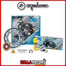 1556911439 KIT TRASMISSIONE OE DUCATI Monster 1100 - S - Evo ( Ratio - 3 ) 2009-2013 1100CC