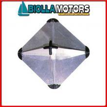 3025034 RIFLETTORE RADAR CUBE ALU L Riflettore Radar Cube