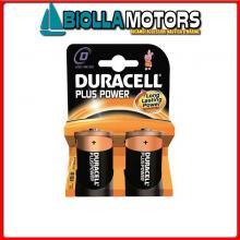 2040004 BATTERIE DURACELL D BLISTER Batterie Duracell D