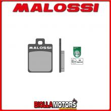 6215006BB COPPIA PASTIGLIE FRENO MALOSSI Posteriori WT MOTORS KAYMAN WT 150 4T (1P57QMJ) SPORT Posteriori ** OMOLOGATE **