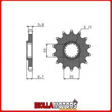 547330113 PIGNONE S AC P520-D13 BETAMOTOR ENCC 250 RR Enduro 2T (Mot.BETA) 13/17
