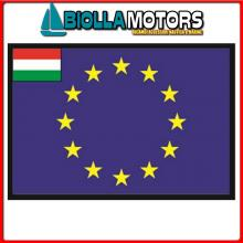 3403620 BANDIERA UNGHERIA UE 20X30CM Bandiera Ungheria UE