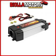 97981 LAMPA POWER INVERTER PSW600, TRASFORMATORE A ONDA SINUSOIDALE PURA 24V > 230V