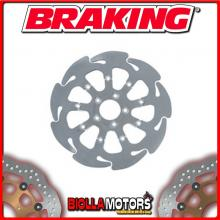 HD09FLD DISCO FRENO ANTERIORE DX BRAKING HARLEY D. XL 883 R ROADSTER 883cc 2010-2011 WAVE FLOTTANTE