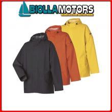 3040872 HH WW MANDAL JACKET 290 ORANGE M Giacca Cerata HH Mandal Jacket