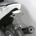 8901030 PORTATARGA MOTO REGOLABILE IN ACCIAIO HONDA NC700 S 2012