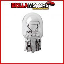 58096 LAMPA 12V LAMPADA CON ZOCCOLO VETRO - W21/5W - 21/5W - W3X16Q - 2 PZ - D/BLISTER