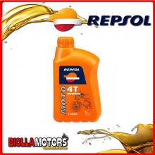 REPSOL33 1 LITRO OLIO REPSOL MOTO RIDER 4T 15W50 1LT