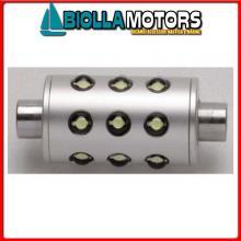 2161616 FESTOON AS - SILURO 12V (IP66) WHITE LED Lampadina Siluro Stagna IP67 LED Aqua Signal