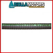 140361210 TUBO SCARICO 127 10MT Tubo Scarico Motori R.I.Na. DIP - 100°C Corrugato