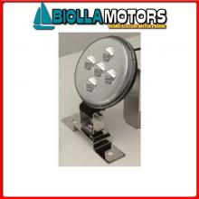2121228 FARO BASE LED 5X3W< Faro da Coperta Power LED 5x3W