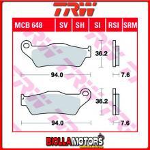 MCB648SI PASTIGLIE FRENO ANTERIORE TRW Kram-it GS 250 1997- [ORGANICA- ]
