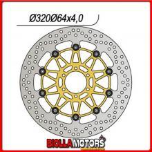 659145 DISCO FRENO ANTERIORE DX-SX NG BENELLI Tre K 1130CC 2006/2012 145 320-80-64-4-6-8,5