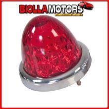 98161 LAMPA TOP LIGHT, FARETTO 9 LED, 24V - ROSSO