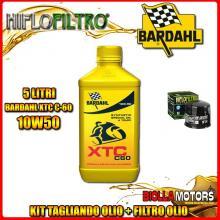 KIT TAGLIANDO 5LT OLIO BARDAHL XTC 10W50 SUZUKI GV1400 GCG,GDG,GTG 1400CC 1986- + FILTRO OLIO HF134