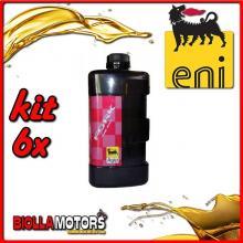 KIT 6X LITRO OLIO ENI FORK OIL 15W FORCELLA - 6x E142891