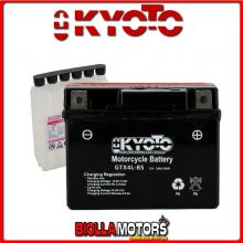 713045 BATTERIA KYOTO YTX4L-BS SIGILLATA CON ACIDO YTX4LBS MOTO SCOOTER QUAD CROSS