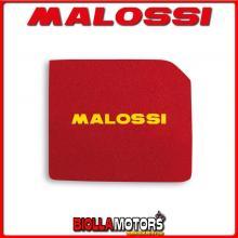 1416577 SPUGNA FILTRO ARIA MALOSSI APRILIA SCARABEO 125 4T LC (PIAGGIO) RED SPONGE PER FILTRO ORIGINALE -