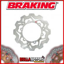 S38005 FRONT BRAKE DISC SX BRAKING PEUGEOT SV 250cc 2002-2007 WAVE SEMIFLOATING