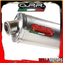 TERMINALE GPR MZ BAGHIRA 660 660CC 1998-2007 OMOLOGATO/APPROVED TITANIUM OVALE / OVAL MZ.2.TO