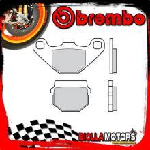 07026 FRONT BRAKE PADS BREMBO LINHAI PRINCE 2006- 50CC [ORGANIC]