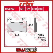 MCB703SRT PASTIGLIE FRENO ANTERIORE TRW Hyosung GT 650 i Naked 2007-2017 [SINTERIZZATA- SRT]