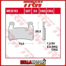 MCB703 PASTIGLIE FRENO ANTERIORE TRW Hyosung GT 250 Ri 2015-2017 [ORGANICA- ]