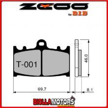 45T00101 PASTIGLIE FRENO ZCOO (T001 EX C) KAWASAKI ZZR 1100 (ZX11 C1-C4) 1991 (ANTERIORI)