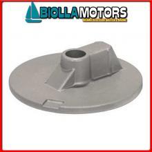 5123122 ANODO MOTORE MERCRUISER Placca Piede Bravo III