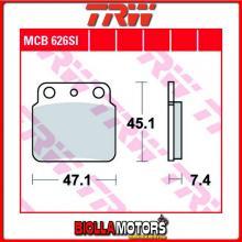 MCB626SI PASTIGLIE FRENO POSTERIORE TRW Hyosung TE 450 S Sport 2007-2010 [ORGANICA- ]