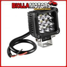 72337 LAMPA WL-18, FARO AUSILIARIO A 9 LED - 9/32V - BIANCO