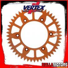 892-897ECOR50 CORONA VERTEX EC 50-520 KTM EXC 125, LC2 1996-1997 125CC - ALLUMINIO/ARANCIO