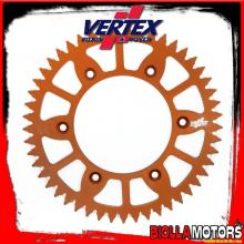 892-897ECOR51 CORONA VERTEX EC 51-520 KTM EXC 125, LC2 1996-1997 125CC - ALLUMINIO/ARANCIO