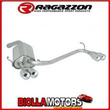50.0106.26 SCARICO Top Alfa Romeo GT(937) 2003>>2010 Posteriore inox sdoppiato con terminali rotondi 2 / 2x80 mm sfalsati